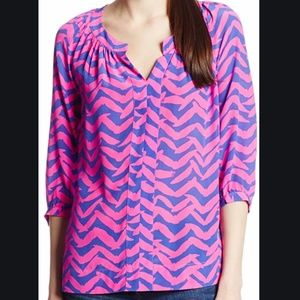 Lilly Pulitzer Moxy Silk Top